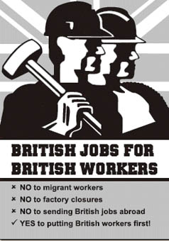 british jobs for british workers