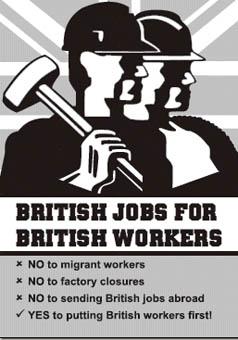 british jobs for british workers