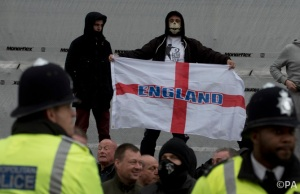 Anti-Islamic protest - London